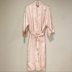 Vintage Christian Dior floral robe
